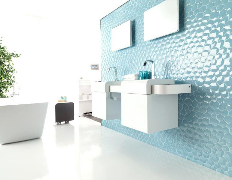 un carrelage a effet garanti a pour vos murs le carreau blanc