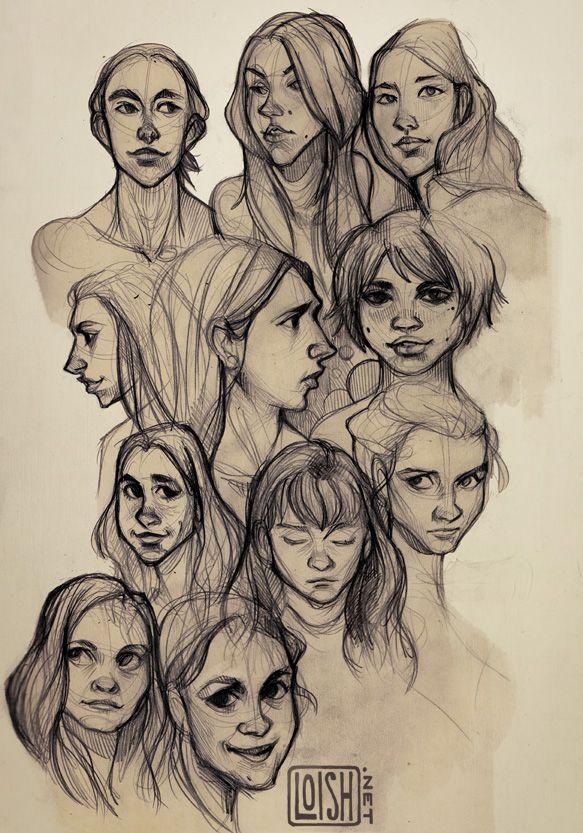 loish blog Character art, Sketches, Cute art