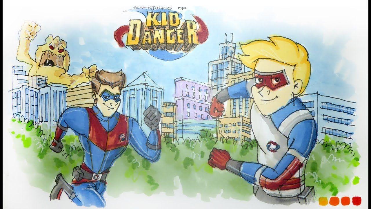Cartoon Series Nickelodeon's The Adventures of Kid Danger