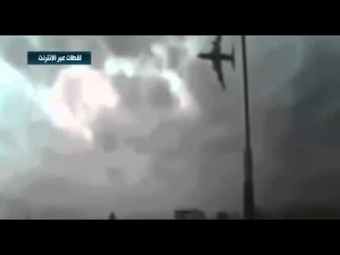 video of the Russian Flight 7K9268 coming down
