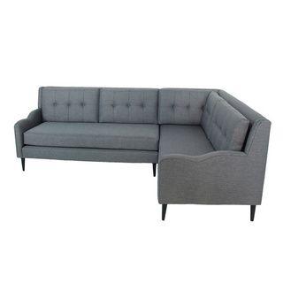 Inncdesign Handmade Modern Sectional Grey Sofa 16412072
