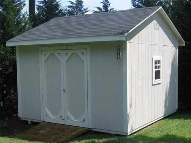 How to Build a 12X12 Storage Shed Hunker #shedideas Shed Plans