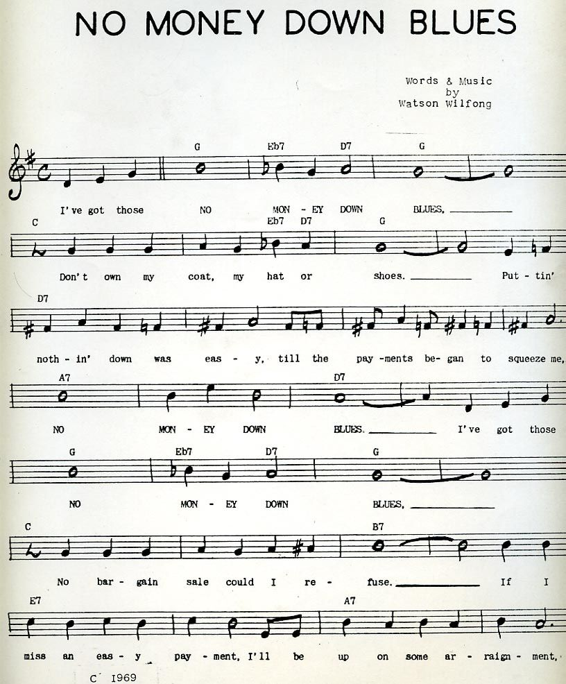 Blues Piano Sheet Music Free I Reckon This Might Be