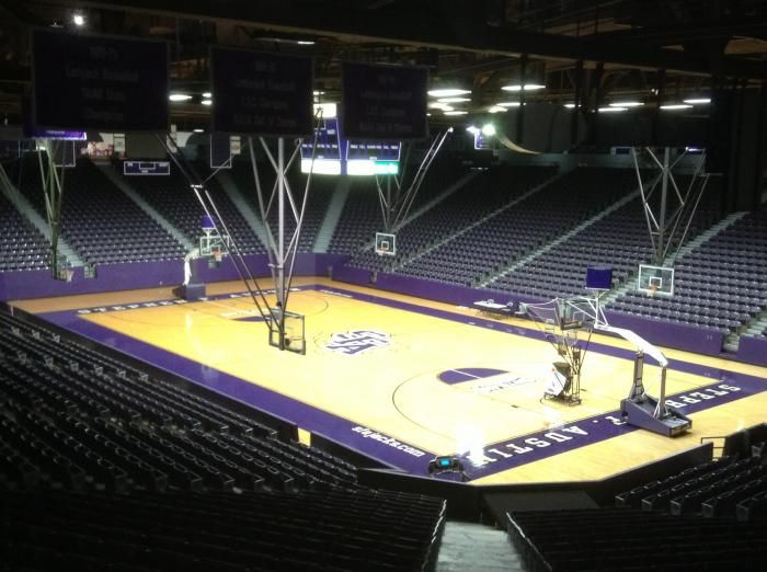 William R Johnson Coliseum Stephen F Austin