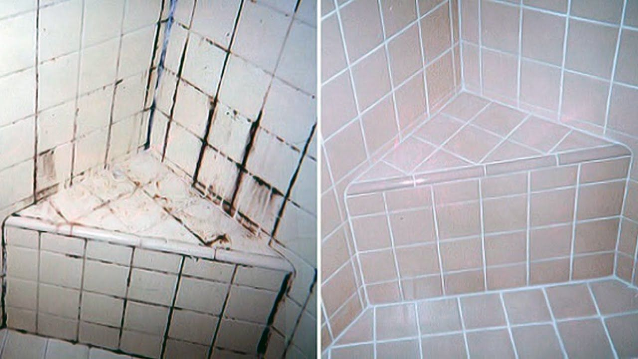 how to get rid of bleach stains on tiles