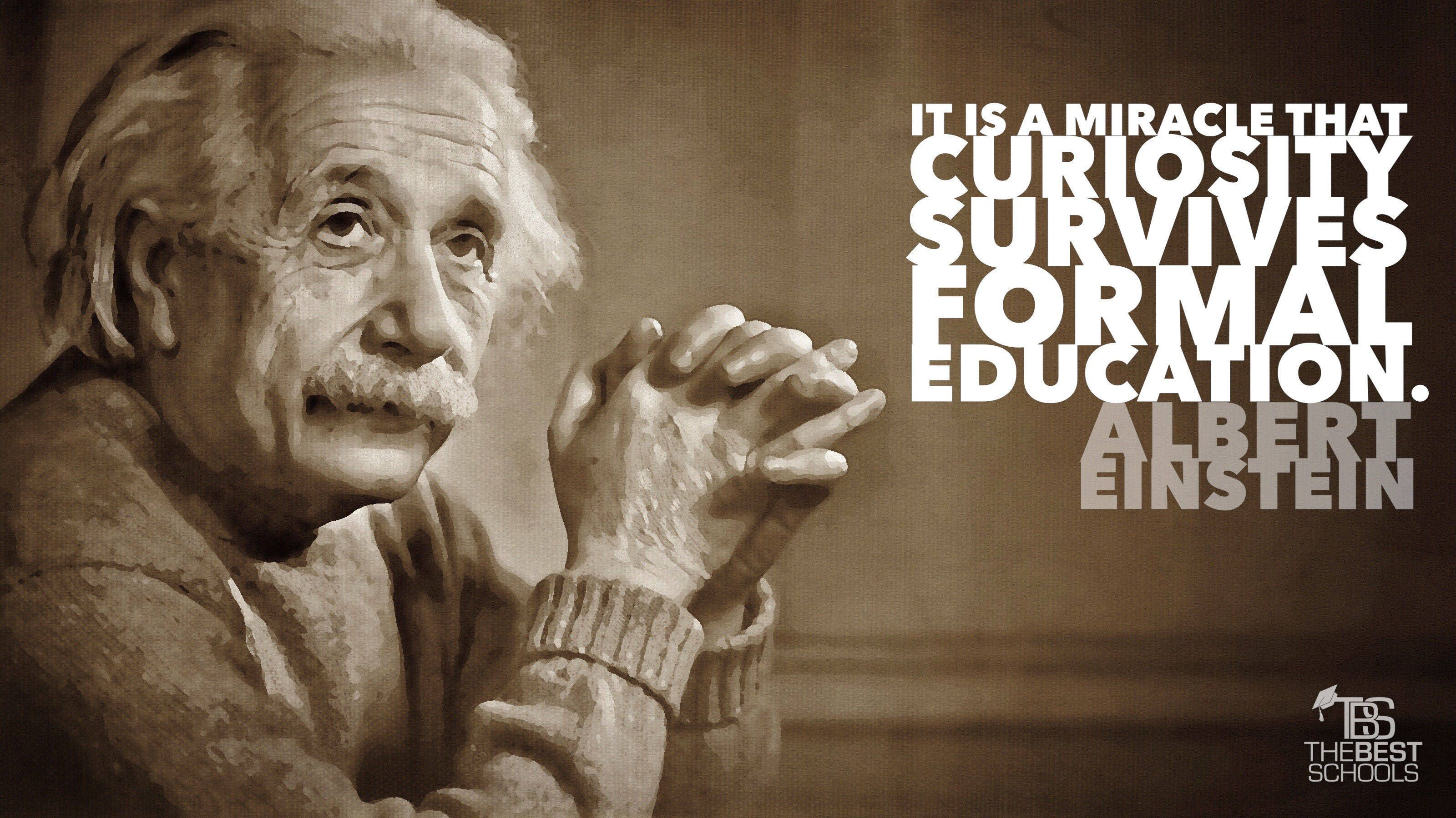 Miracle Curiosity Survives Formal Education