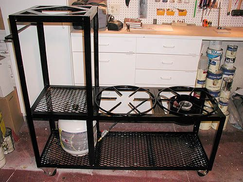 2 Tier Diy Brew Stand Anyone Know A Good Welder Who Will