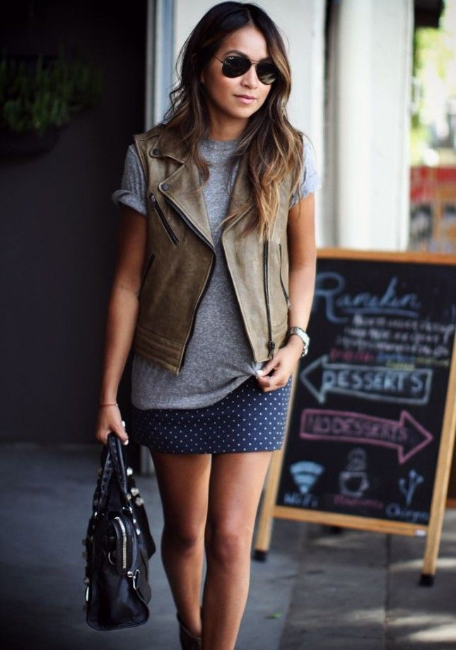 12 Stylish Vests to Rock This Fall