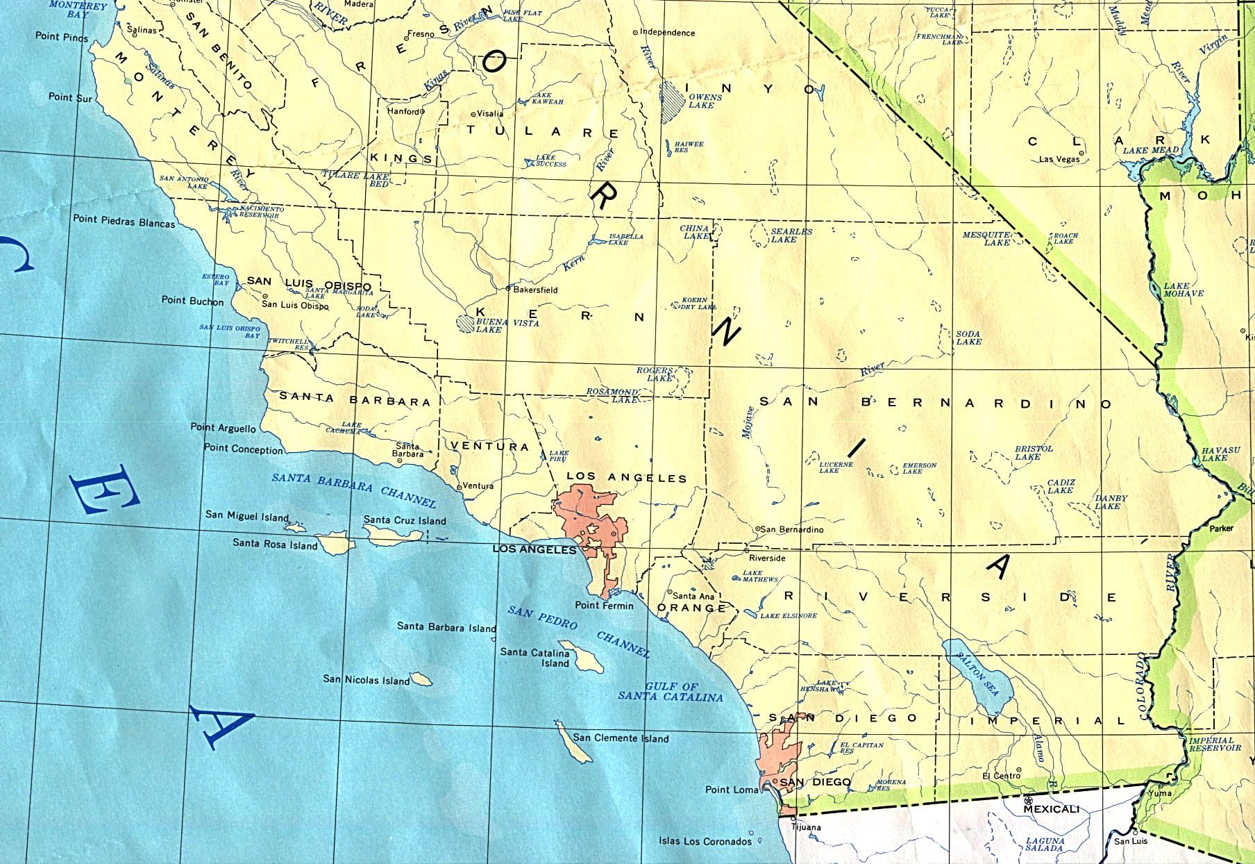 During the first several decades of the 20th century these beliefs california map online maps of california state gumiabroncs Choice Image