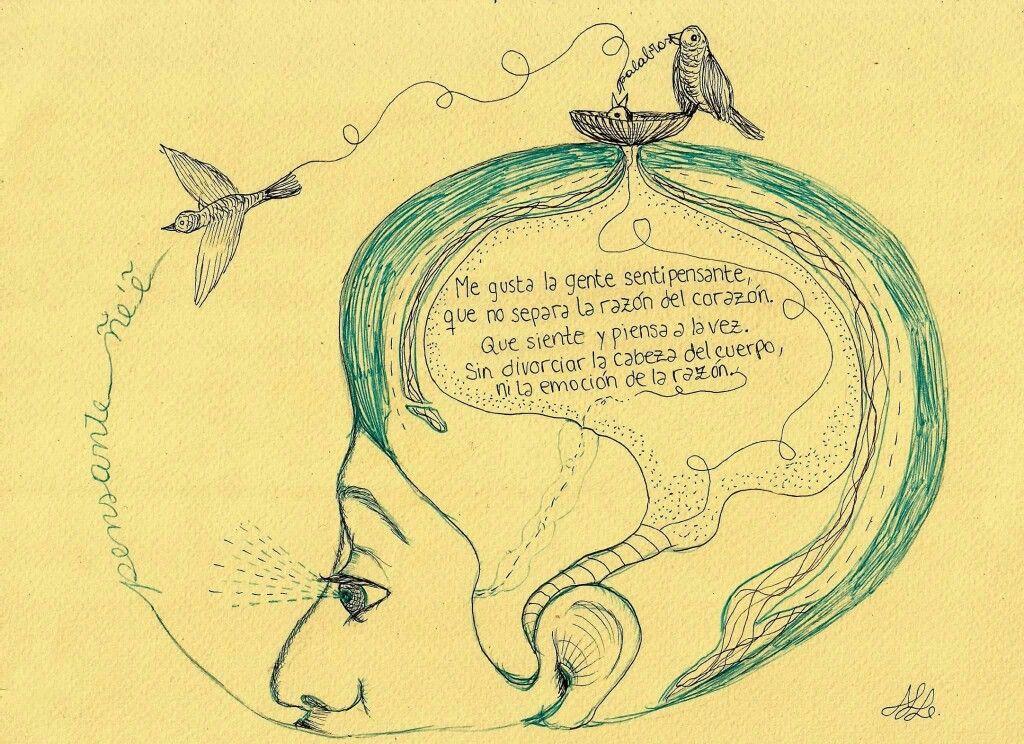 Pensante Eduardogaleano Pensante Dibujos Sentimientos