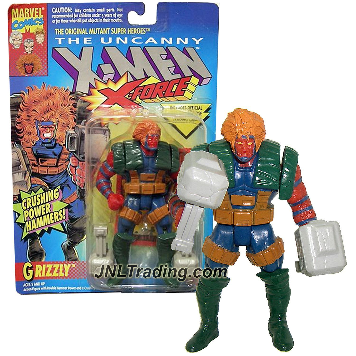 X-MEN TOY BIZ  GRIZZLY ACTION FIGURE