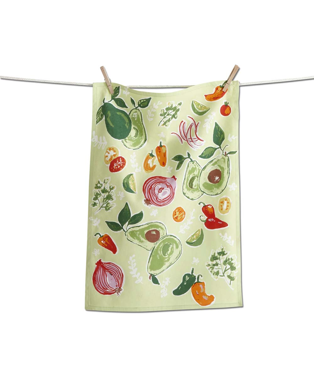 Tag Green Avocado Dishtowel Zulily In 2020