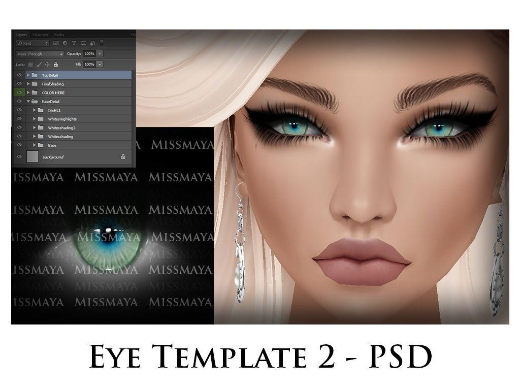 MM: Eye Template 2 (Imvu)