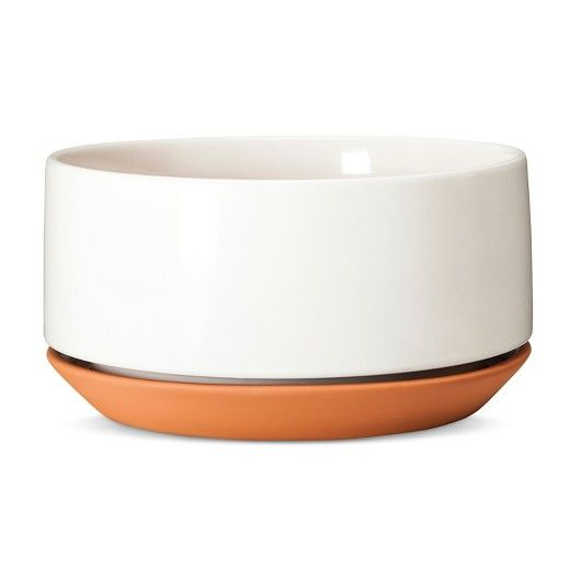 Terracotta Planter 10 Quot White Modern By Dwell Magazine Target Terracotta Planter Ceramic Planters Modern Planters