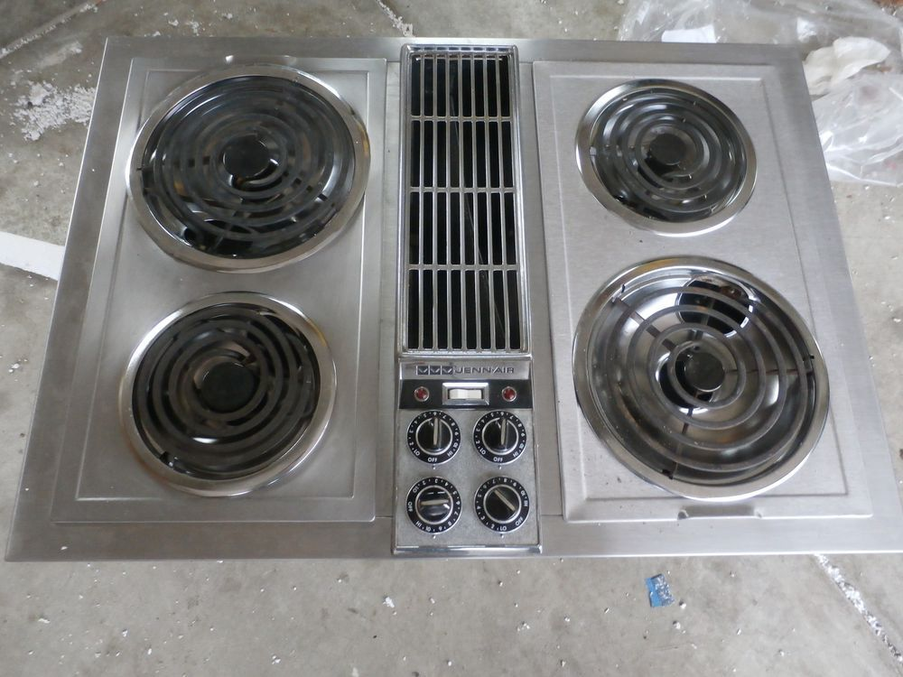 Jenn Air Expressions Collection Modular Electric Downdraft Cooktop