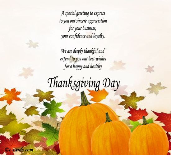 Happy Thanksgiving Messages For Family And Friends