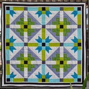 Bright Geometric Baby Quilt | Quilts We Love | Pinterest | Babies ... : geometric quilt patterns free - Adamdwight.com