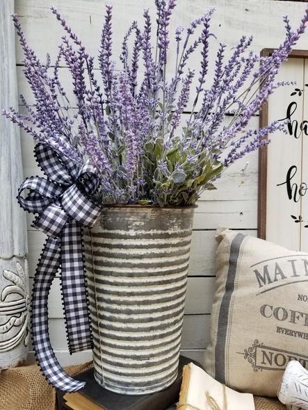 Photo of Farmhouse lavender arrangement