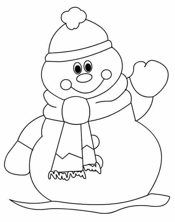 Pin By Marsha Johnson On School Kerst Snowman Coloring Pages Christmas Coloring Sheets Printable Christmas Coloring Pages