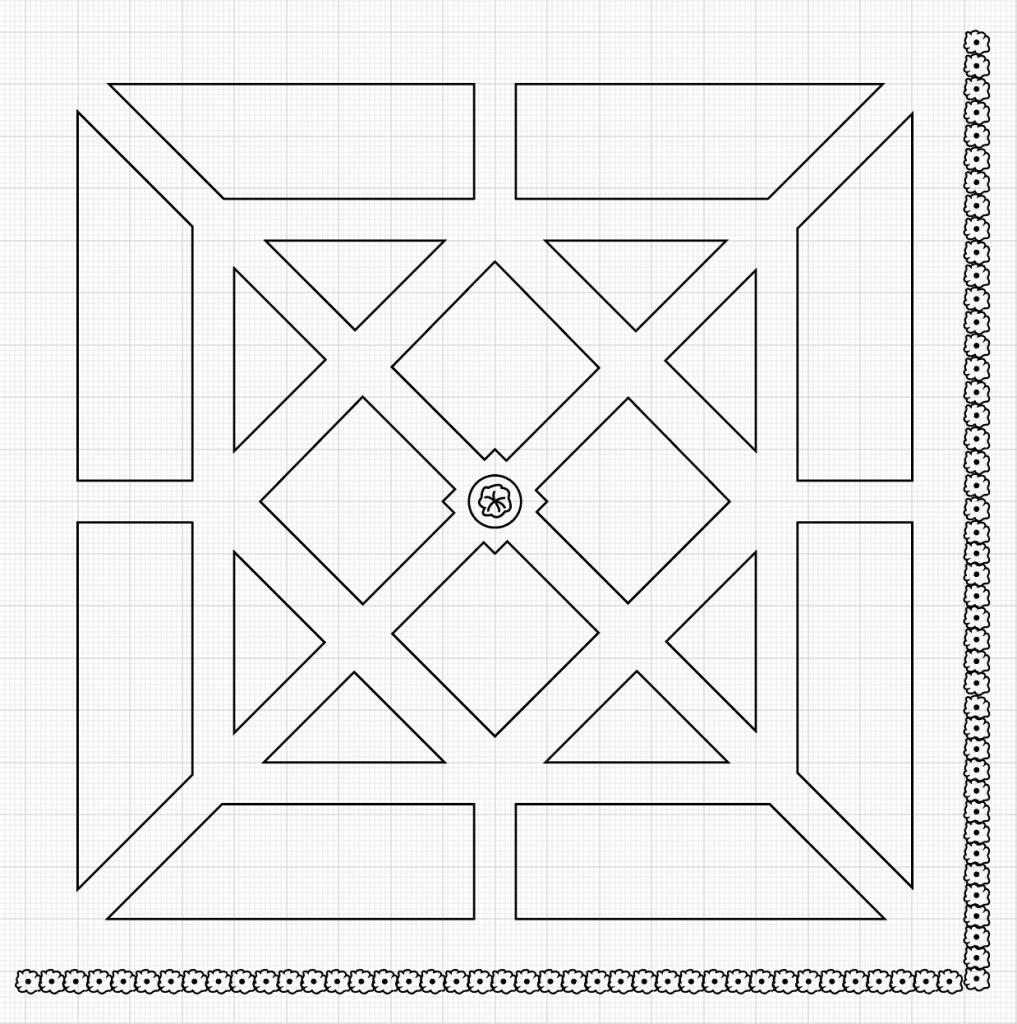 Potagerin layout