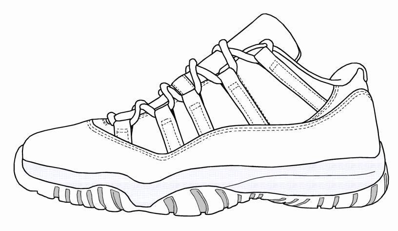 21 Jordan Shoe Coloring Book In 2020 Sneakers Sketch Sneakers