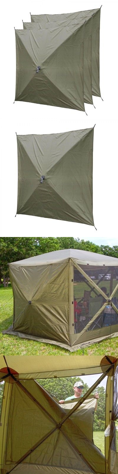 Tent and Canopy Accessories 36120 Clam Quick Set Screen Hub Green Fabric Wind And Sun & Tent and Canopy Accessories 36120: Clam Quick Set Screen Hub Green ...