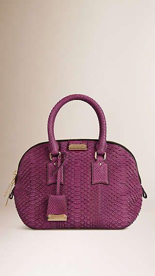 07f4955b38c The Small Orchard in Nubuck Python Python, Burberry Prorsum, Beautiful Bags,  Pink Fashion