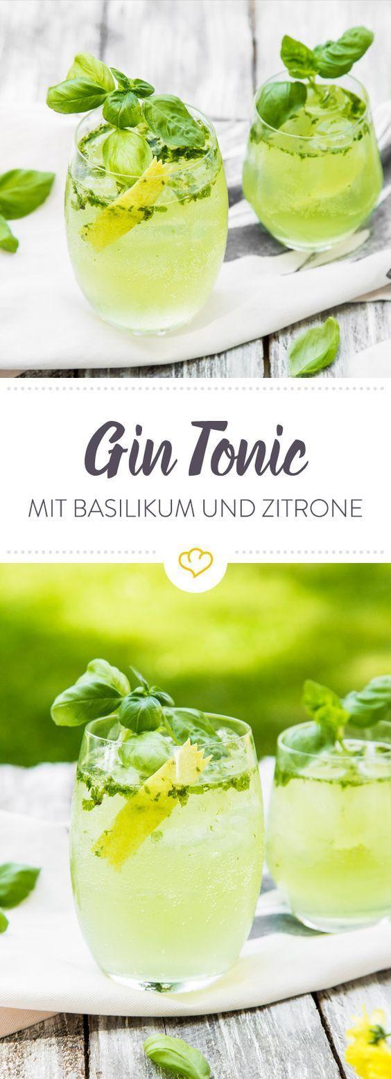 Photo of Lemon & Basil Gin Tonic
