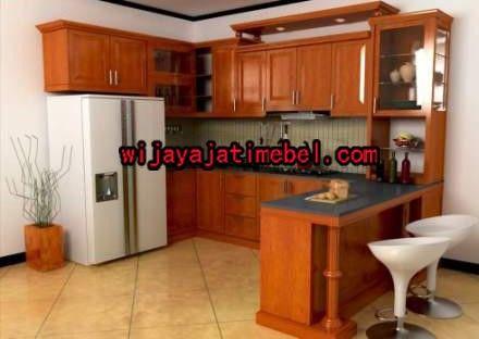Kitchen Set Minimalis Kayu Jati Terbaru Mewah Murah Wijaya