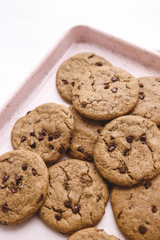 Best Healthy Chocolate Chip Cookies Vegan Gluten Free Refined Sugar Free Oil Free Veggiekins Blog Recipe In 2020 Healthy Chocolate Chip Cookies Healthy Chocolate Chip Gluten Free Chocolate Chip Cookies