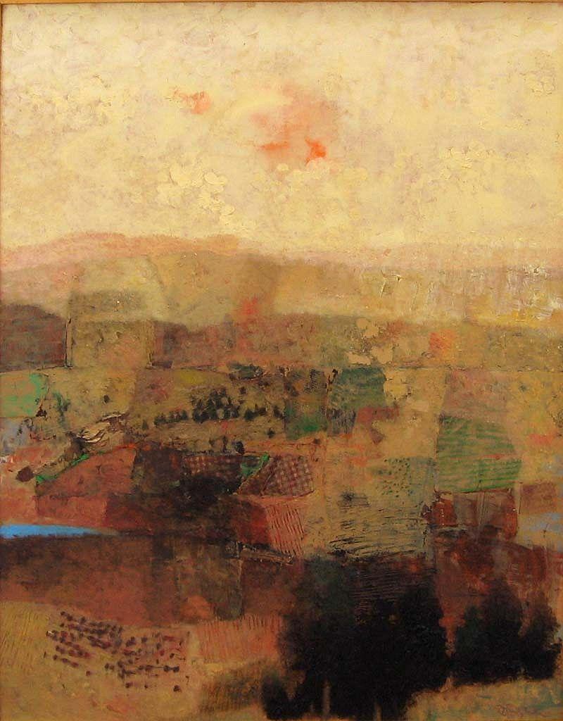 Mark English | Untitled Pastel Landscape | Telluride Gallery