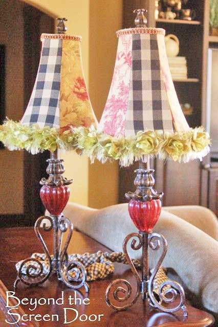 Really fun lampshades add that something extra to any lamp