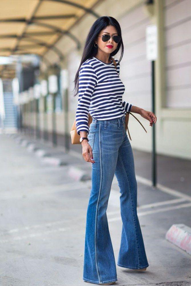 Los Mejores Zapatos Para Llevar Pantalones De Campana Moda Moda Estilo Ropa