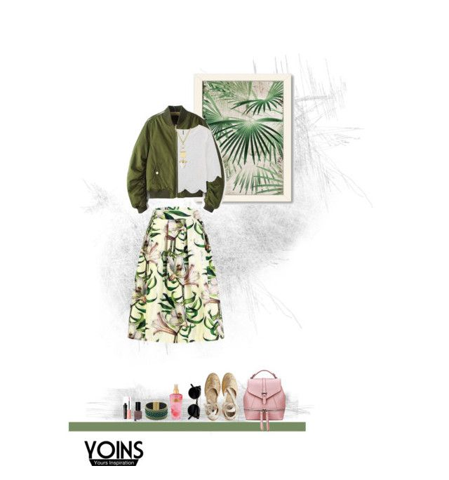 """""""Day at the Botanical Garden"""" by fernshadowstudio-com ❤ liked on Polyvore featuring Americanflat, Manebí, Victoria's Secret, Bobbi Brown Cosmetics and Benefit"""