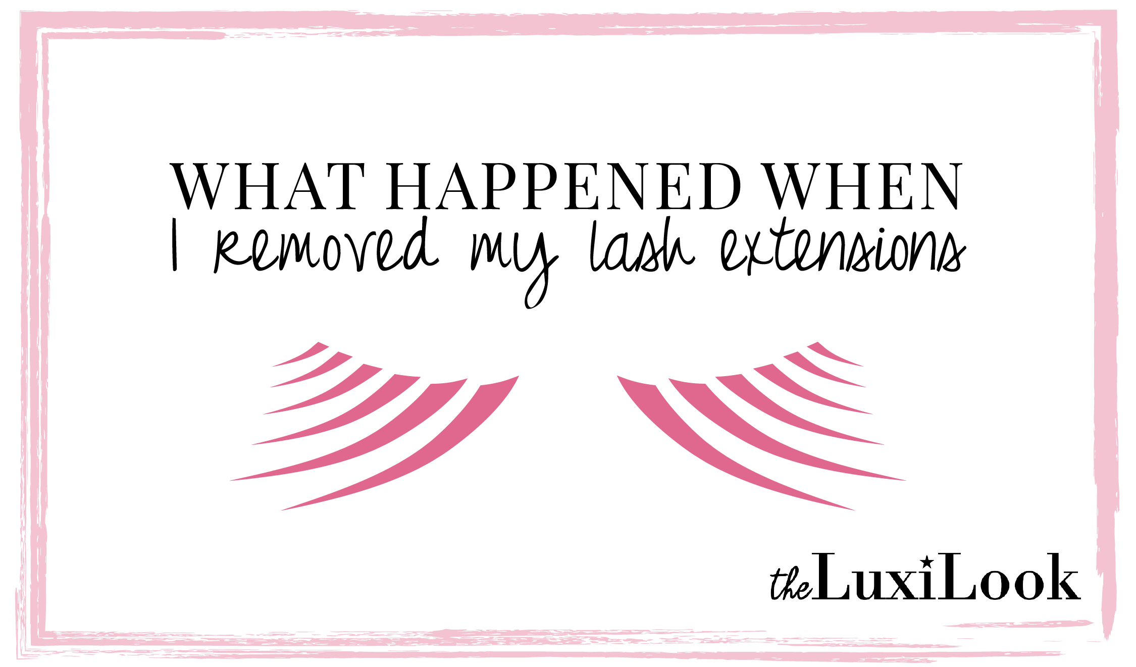 8efe3a25d95 Read this post for all the details on eyelash extension removal including  what happened, damage to natural lashes, benefits, & proper removal.