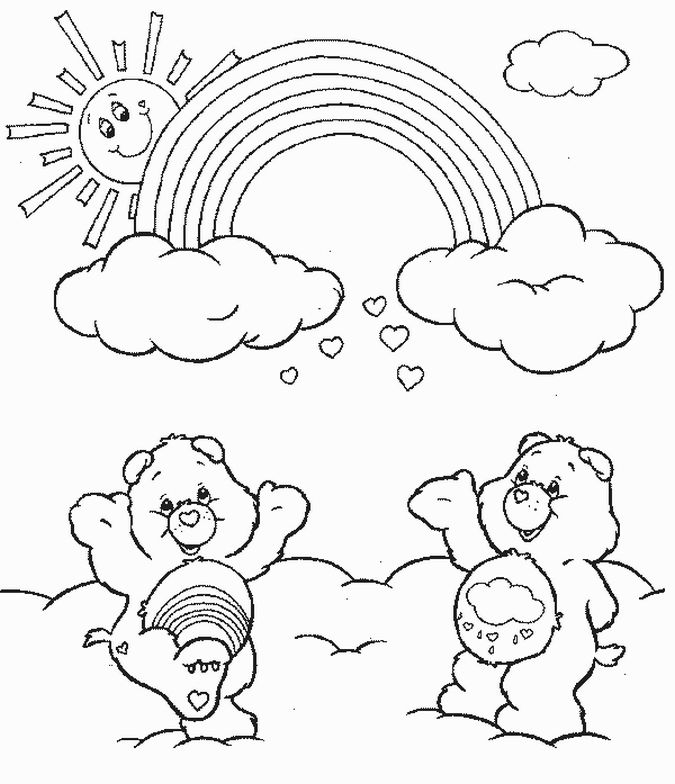Care+Bears+Coloring+Pages+02.jpg (675×784) | Bear coloring