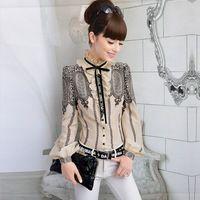 Exclusive S-XL 2014 New fashion vintage womens bowknot ruffles ...