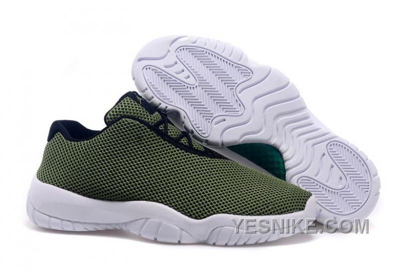 Big Discount 66 OFF NK Air JD 11 Low Mesh Shoes Green 2015 Men 4RFac