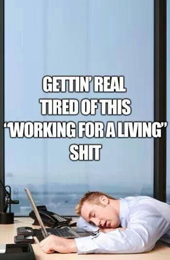 Working Hard Funny : working, funny, YOU'VE, WORKING, WHEN..., Bored, Meme,, Work,, Humor