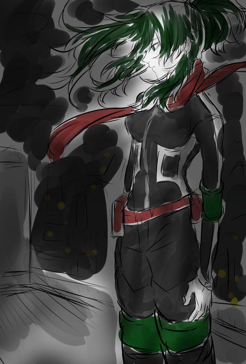 BNHA female Izuku (Villain) | Just Izuku Midoriya | Villain deku