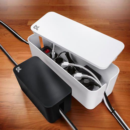 CableBox™ kompakt oder CableBox™ Moderne Design-Boxen verstecken ...