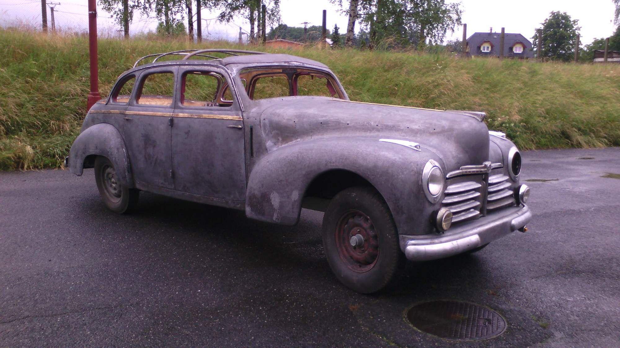 Skoda Superb 1947 Skoda Classic Cars