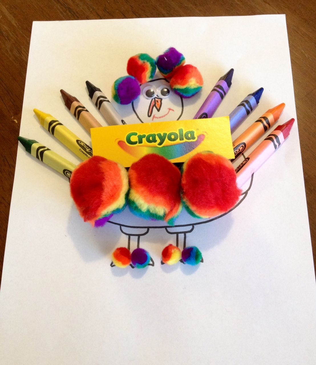 How to decorate and hide the turkey - Turkey In Disguise Thanksgiving Craft