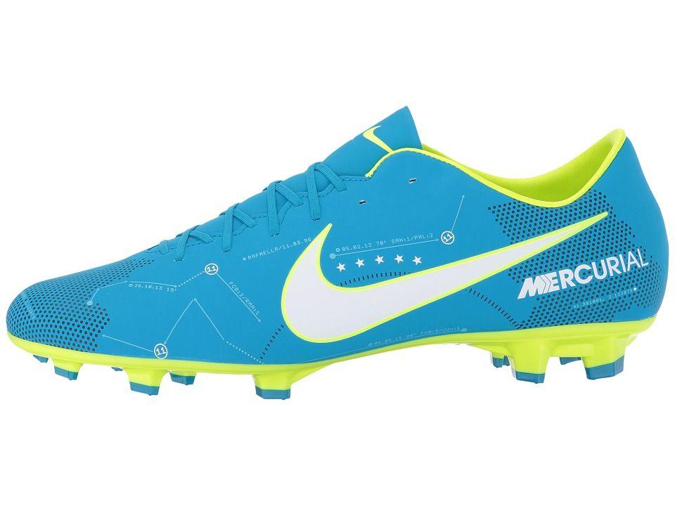 wholesale dealer a809a 95a6a Nike Mercurial Victory VI NJR FG Men's Soccer Shoes Blue ...