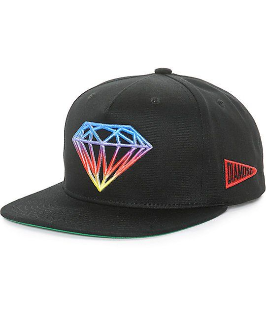 40ba8de26 Diamond Supply Co Brilliant Gradient Tie Dye Snapback Hat | Hats ...