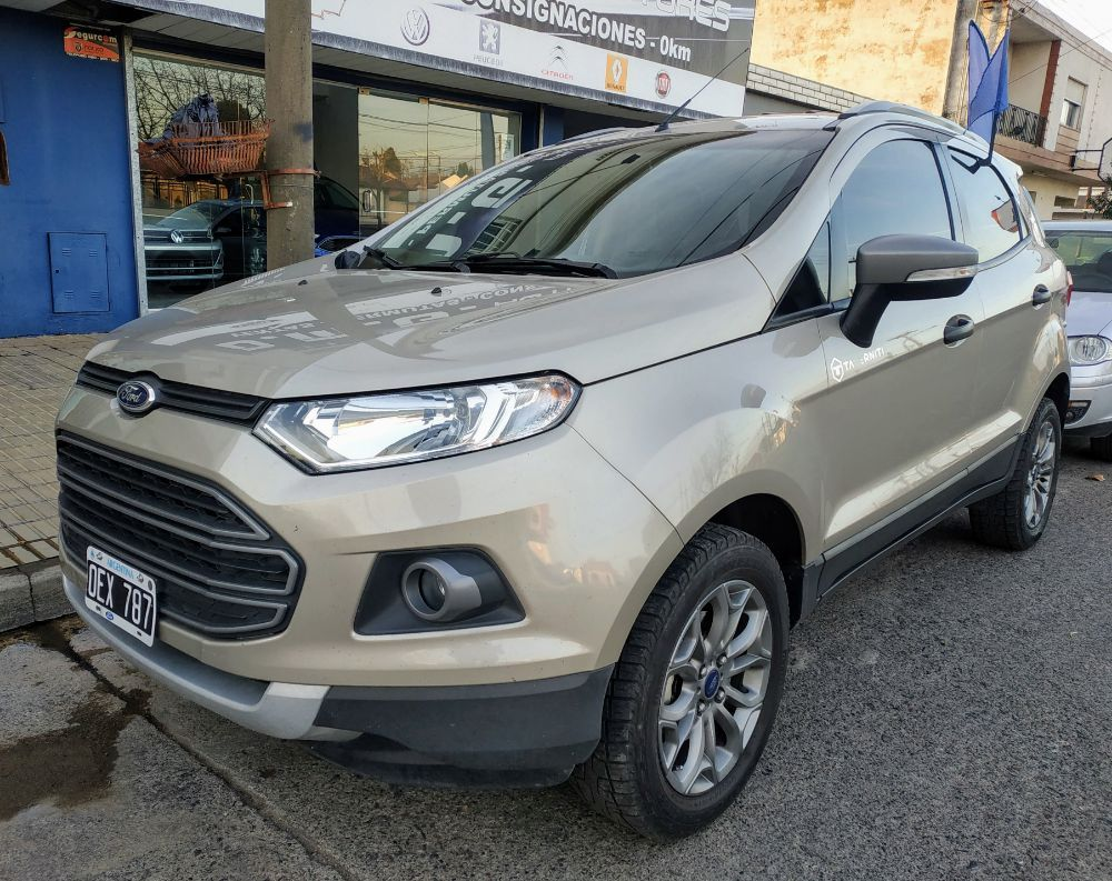 Ford Ecosport Freestyle 1 6 Unica Mano Impecable Ford Ecosport
