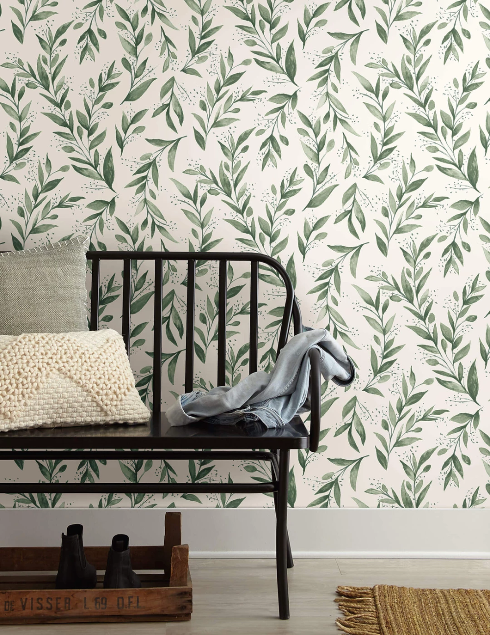 Magnolia Home Olive Branch Wallpaper Olive Grove