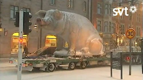 """lulea sweden ice sculpture 
