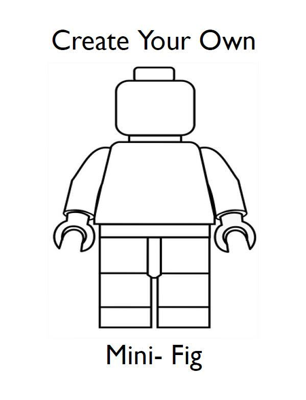 Draw Your Own Lego Minifigures Is A Quick And Easy Lego Game That S Perfect For Party Games For Kids Play Group Bore Lego Party Lego Birthday Lego Printables