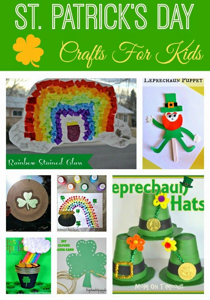St Patrick S Day Craft Ideas St Pats Day Pinterest St
